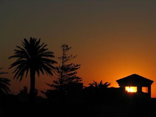 punta del este sunset uruguay