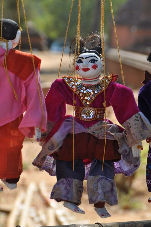 puppet myanmar doll