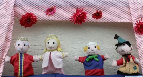 puppet theatre theater dolls