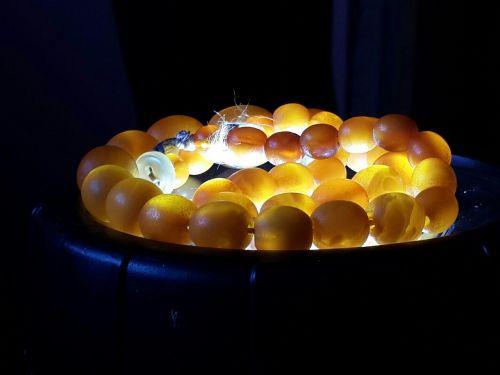 pure amber beauty