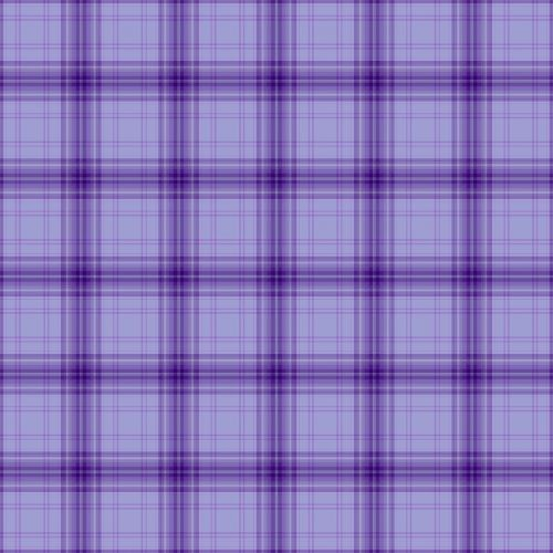 purple plaid original