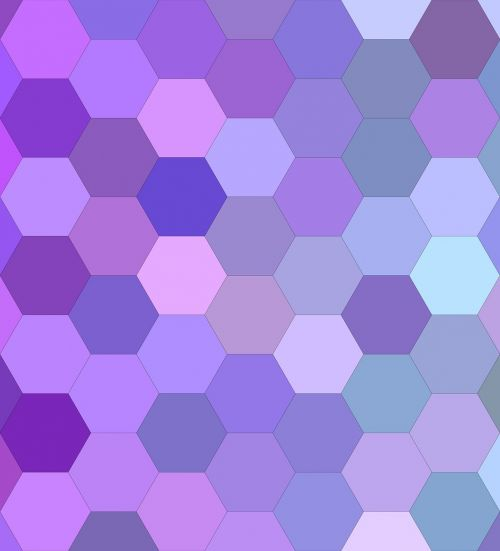purple hexagon background