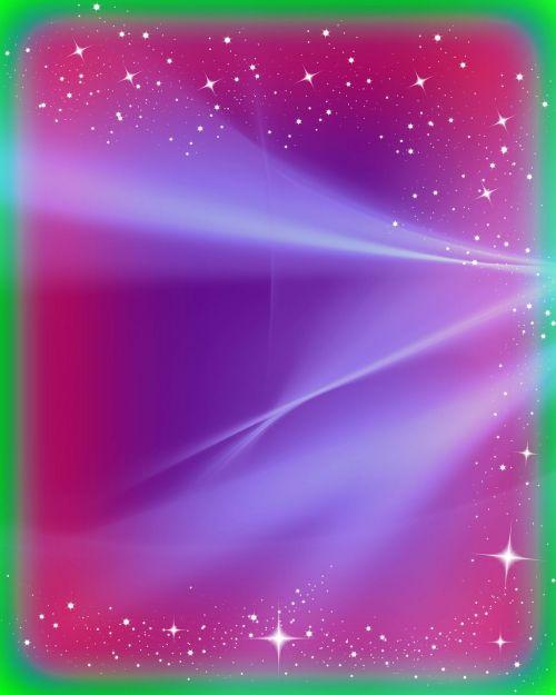 purple light stars