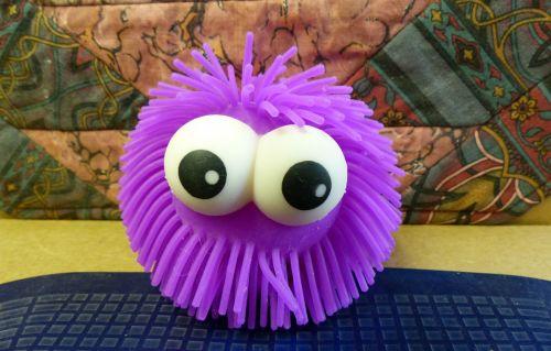 Purple Eyeballs Toy