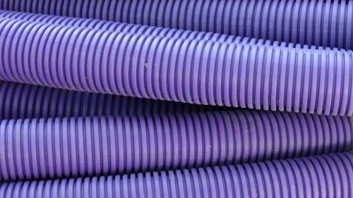 Purple Plumbing Tubing Pipes