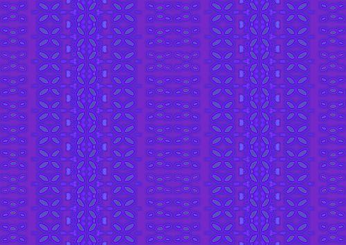 Purple Simple Daisy Print