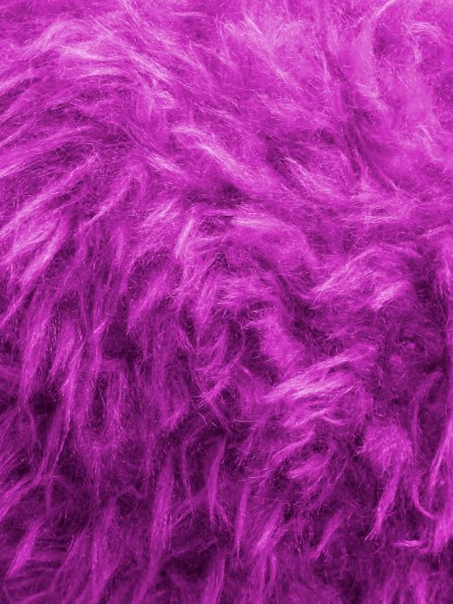 Purple Thick Furry Background