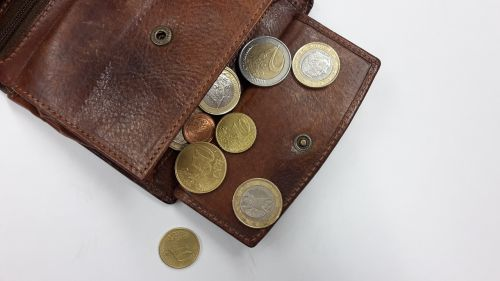 purse coins money