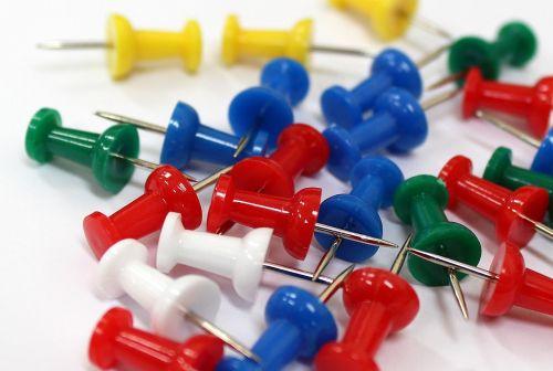 push pins pins stationery