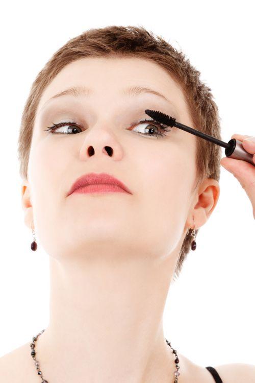 taikymas, grožis, kosmetika, kosmetika, akis, blakstienų, blakstienos, akys, veidas, mada, Moteris, mergaitė, glamoras, izoliuotas, gyvenimo būdas, makiažas, tušas, žmonės, įdėti, jaunas, įdėti į tušą