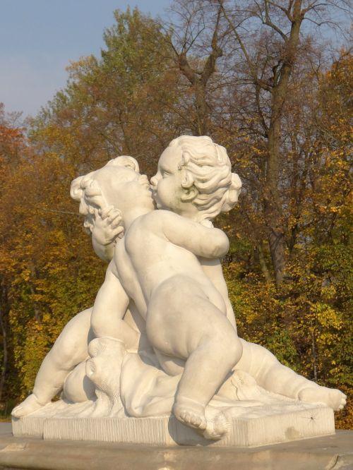 putto sculpture copy