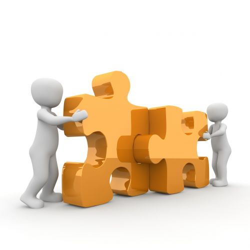 puzzle cooperation partnership