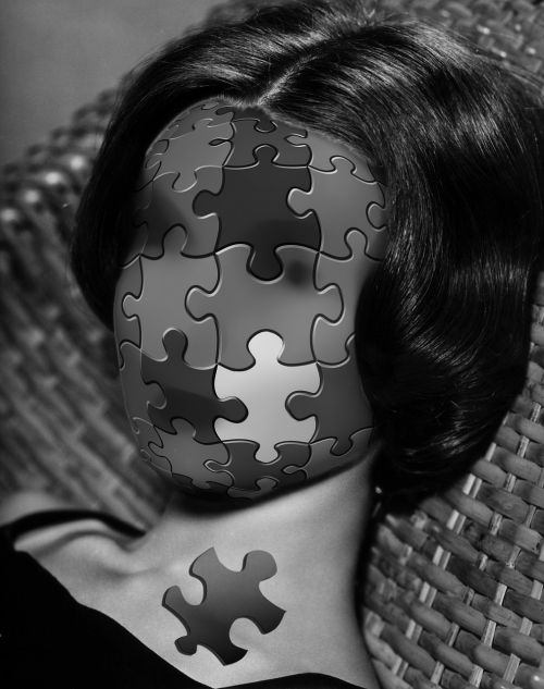 puzzle incomplete face