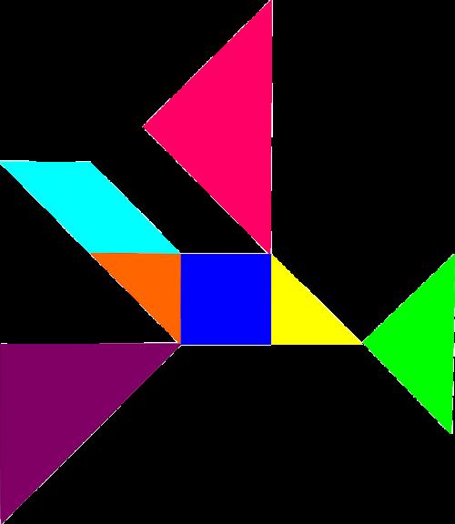 puzzle tangram dissection puzzle