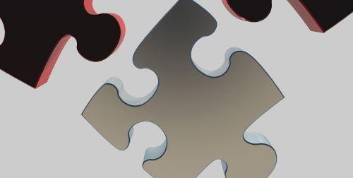 puzzle part 3d model