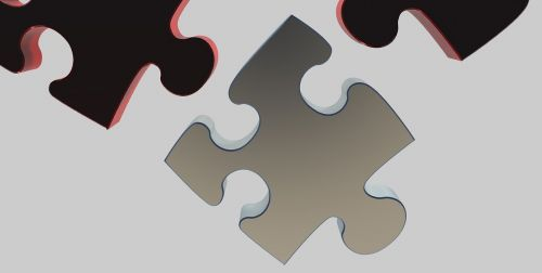puzzle share 3d model