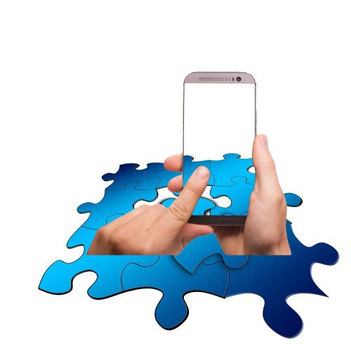 puzzle share smartphone