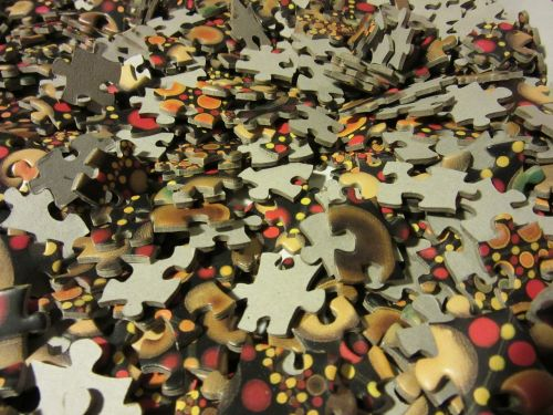 puzzle share colorful