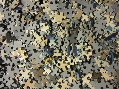 puzzle pieces of the puzzle mess