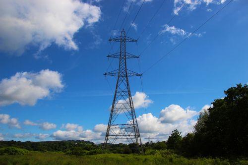 pylon electricity pylon electricity