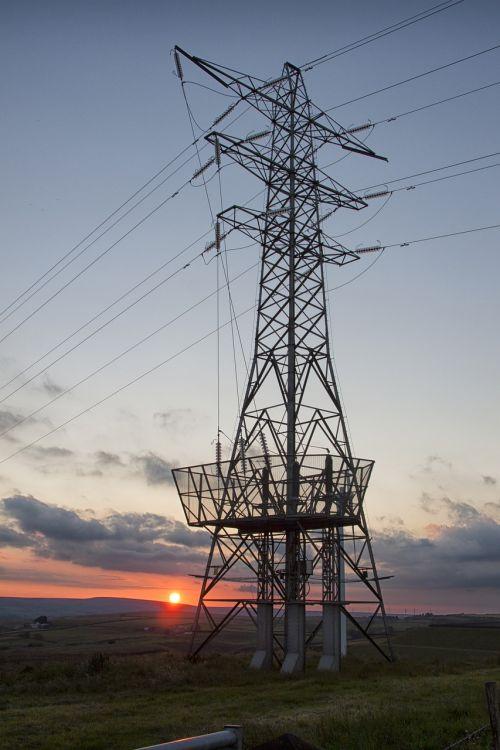 pylon sunset energy