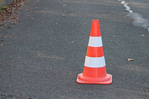 pylon traffic cone barrier
