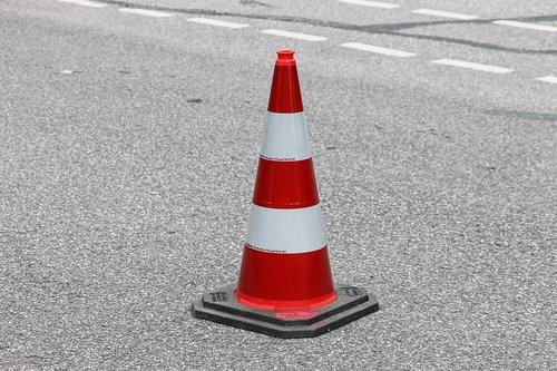 pylon  traffic cone  barrier