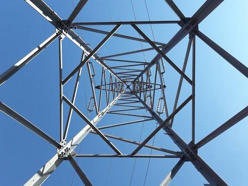 pylon  structure  steel