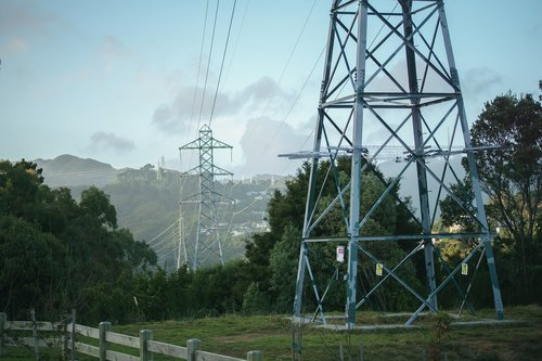 pylon  scenery  energy