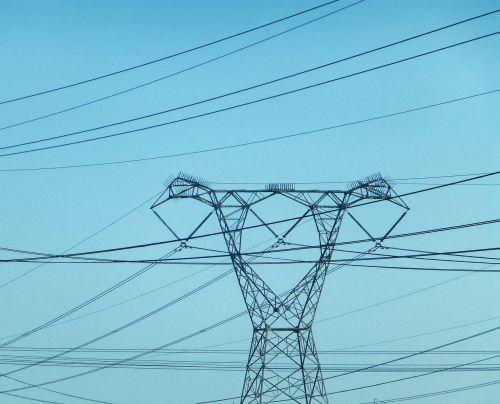 pylon electricity lines