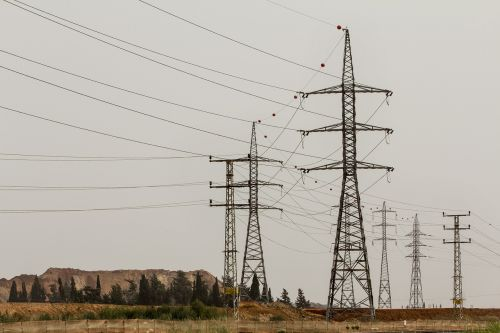 pylons electric electricity