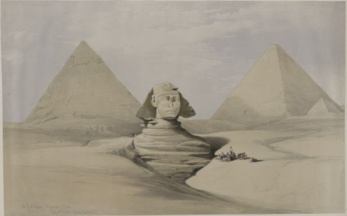 pyramid sphinx egypt