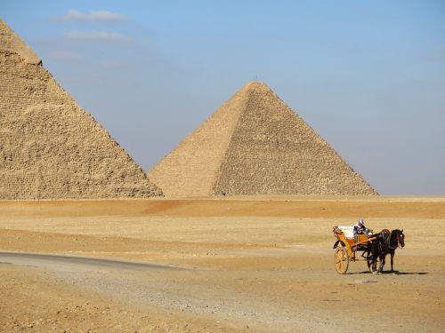 pyramid desert camel