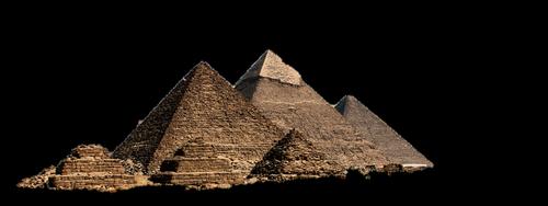 pyramid  isolated  transparent