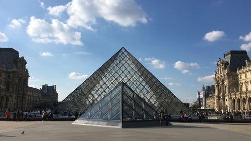 pyramids museum louvre