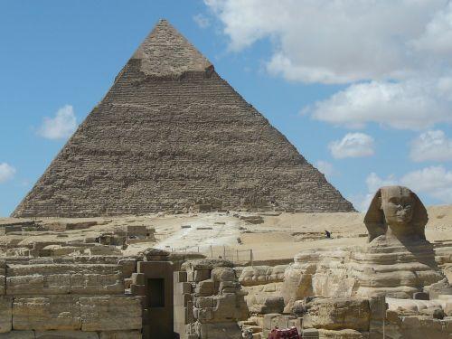 pyramids sphinx cairo