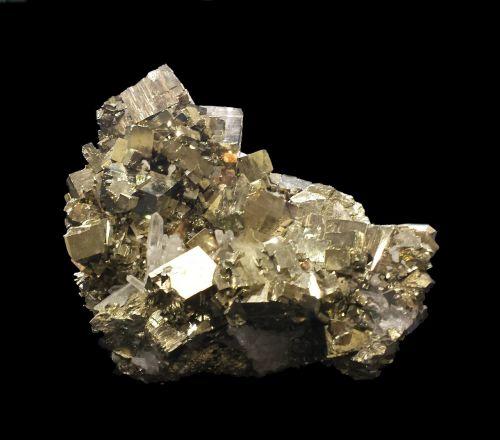 pyrite fool's gold specimen