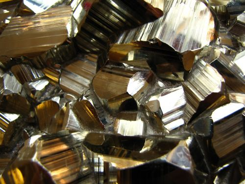 pyrite crystal nature