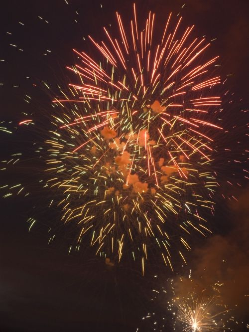 pyrotechnics fires artificial