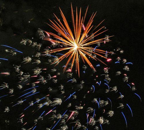 pyrotechnics lights fireworks