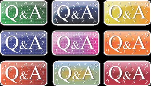 q a question help