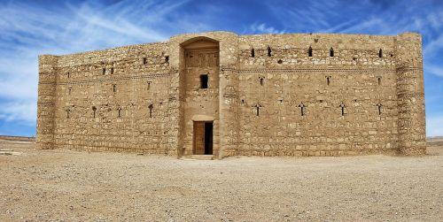 qasr al kharrana jordan castle