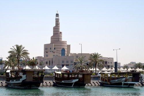 qatar  doha  corniche