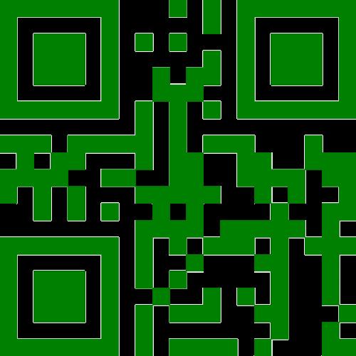 qr-code barcode binary
