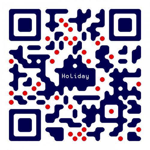 QR Code Happy New Year
