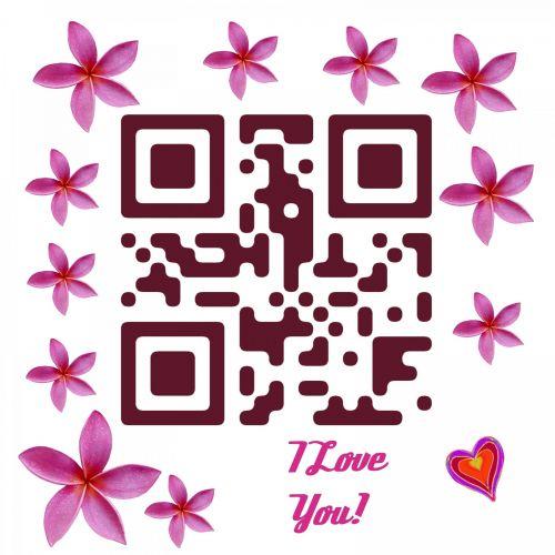 QR Code I Love You!