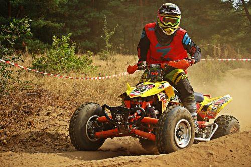 quad motocross cross