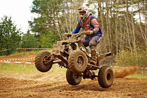 quad atv motorcycle sport