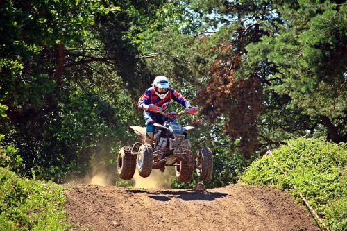 quad enduro motorcycle