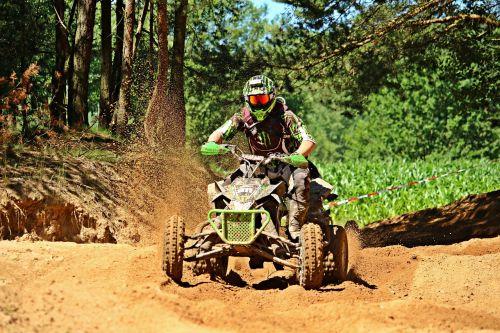 quad atv motocross ride